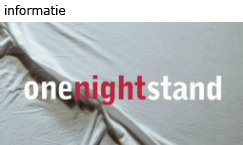 Logo: One Night Stand - Meer informatie
